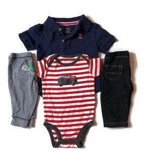3 Month Carter's Outfit x2